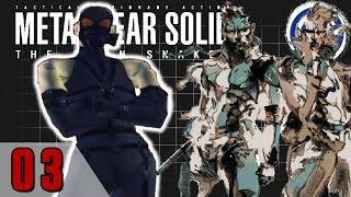 METAL GEAR SOLID: THE TWIN SNAKES | Metal Gear Saga Part 10: SUPERMARIOSUNHINE | StreamFourStar