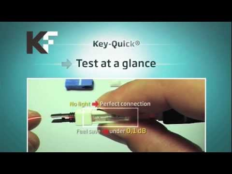 Fiber Optic Fusion Splicing  KeyFibre Fast Field Installable Connector SC/UPC SC/APC