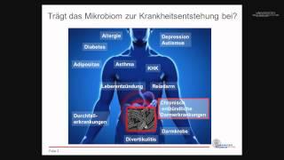 Darmflora und Mikrobiom: Warum wir ohne Keime nicht leben können - 1. Freiburger Abendvorlesung 2014