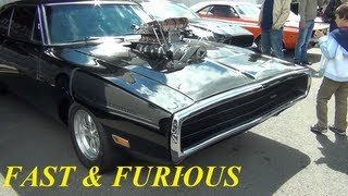 (HD) Vin Diesel´s 1200hp Dodge Charger !!