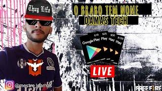 LIVE COM PRÊMIOS/ FREE FIRE/ GIFT CARDS