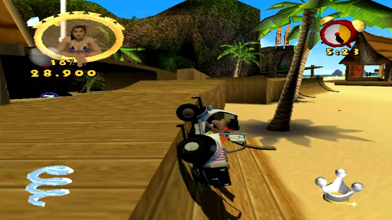 Beach king stunt racer (PC) MG