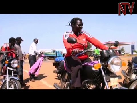 Bicycles and motorcycles help emancipate the women of northern Uganda