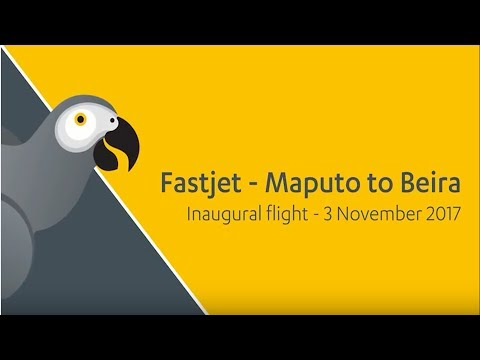 fastjet launches its brand in Mozambique
