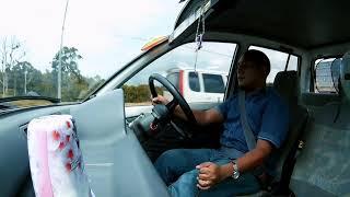 Perodua Kancil 2002 on the road