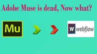 Adobe Muse is Dead, Now What??