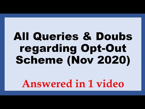 All Queries regarding Opt-out Scheme of ICAI for Nov 2020 exams| Answered in one video