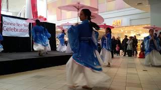 Meridian Mall Chinese New Year- Jasmine Flower Dance Team
