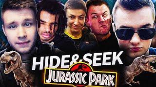 HIDE AND SEEK - JURASSIC PARK!