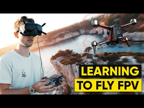 Learning To Fly The DJI FPV DRONE! (From Zero)