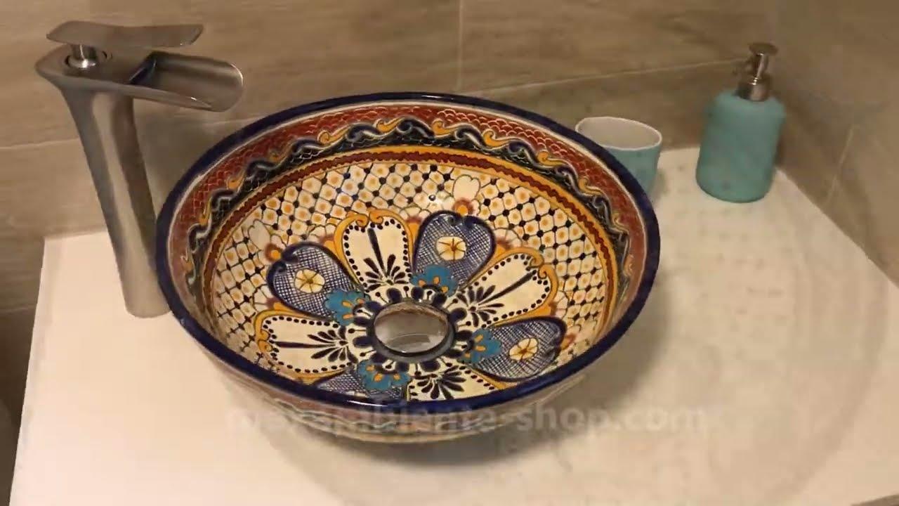 Mexikanische Waschbecken für das besondere Badezimmer oder