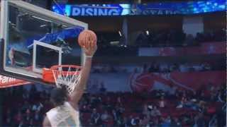 Kenneth Faried Rising Stars Highlights (40 Points, 10 Rebounds) HD