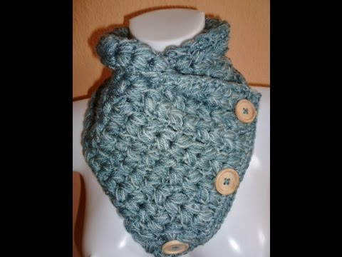 Knopfloop Häkeln Crochet A Loop Schal Scarf Anfänger