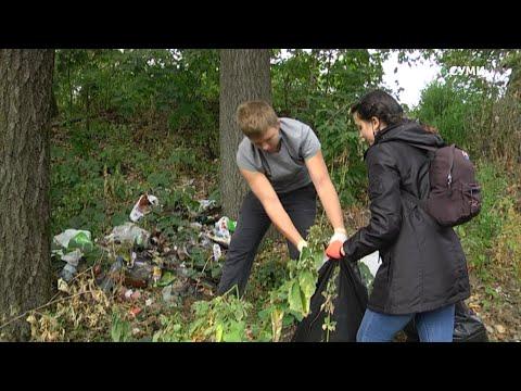 Суспільне Суми: Волонтери назбирали понад 600 кг сміття у зонах відпочинку Сум