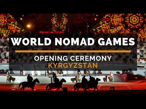 World Nomad Games 2018 in Kyrgyzstan - Opening Ceremony