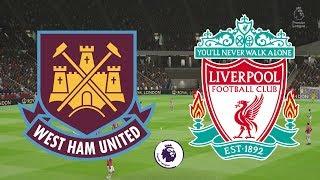 Premier League 2018/19 - West Ham Vs Liverpool - 04/02/19 - FIFA 19