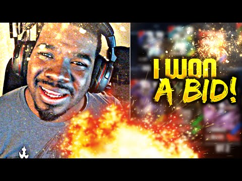 I WON A BID !!! Madden NFL 16 Ultimate Team Making Movez Ser