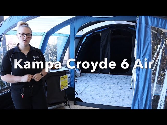 Kampa Croyde 6 air (Familie lufttelt)