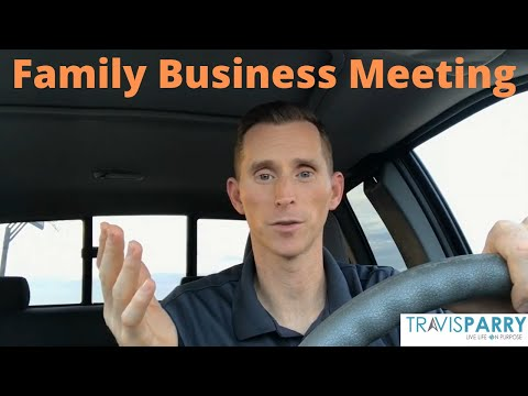 Make Time Moment-Make Time for Family Business Meetings!