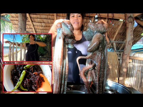 Yummy Adobong Pugita | How to Make Dried Octopus