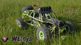 Обзор радиоуправляемой модели WLtoys 12428 - песчаная багги 4WD 1/12 с сайта GearBest