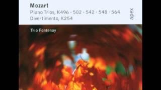 Mozart: Piano Trio in G major K.496 - Trio Fontenay