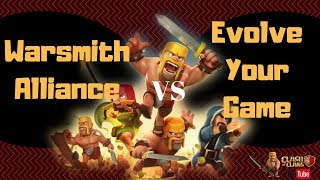 Most exciting war EVER! The EYG vs The Warsmith Alliance | Clash of Clans