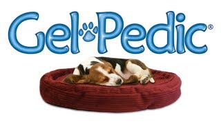 Gel-pedic Orthopedic Memory Foam Pet Dog Bed With Gelfoam