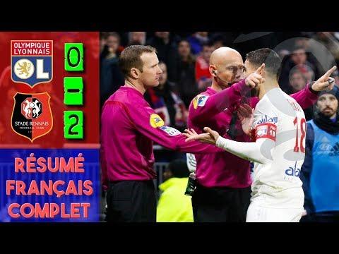 LYON 0-2 RENNES / RÉSUMÉ FRANÇAIS COMPLET HD
