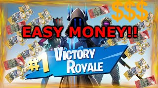 How to get paid playing Fortnite! make money playing games!