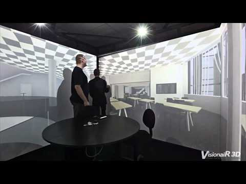 The Simulation Cube ( CAVE VR SYSTEM ) by VisionaiR 3D