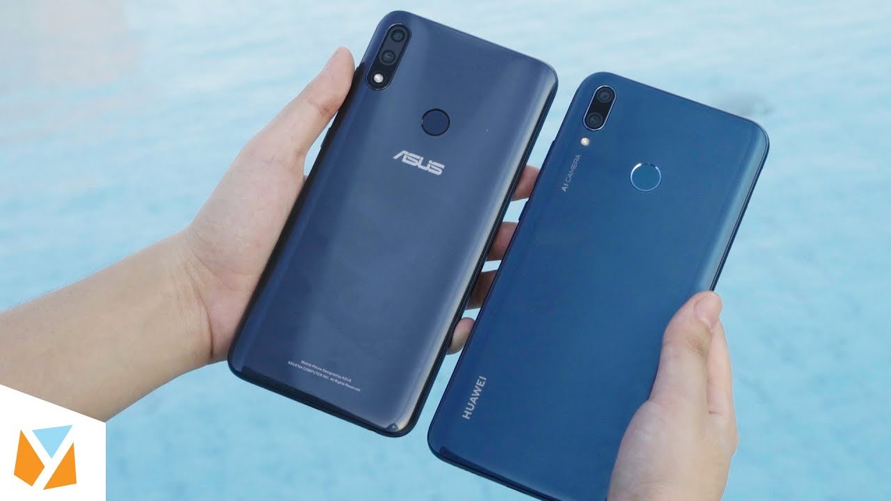 ASUS Zenfone Max Pro M2 vs Huawei Y9 (2019) Comparison Review