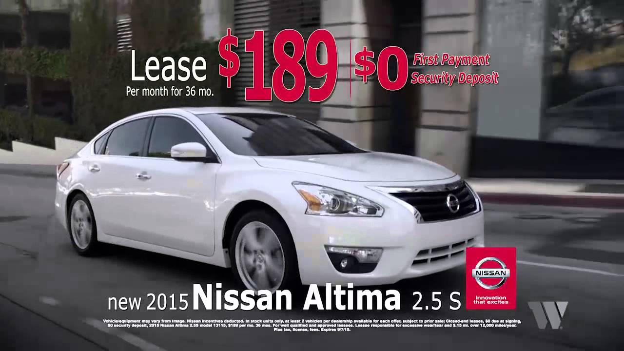 Jeff Wyler Fairfield Nissan   Lease A New Nissan Altima Fairfield OH  Cincinnati