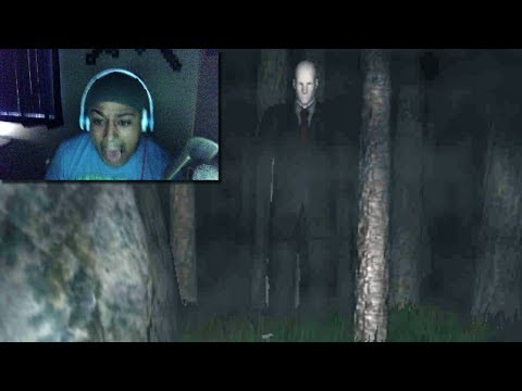 SLENDER ANXIETY!: SCARY ASS GAMES! (FACECAM)