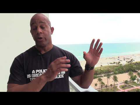 Interview with North Miami Beach police officer  Ericson Harrell aka the Penitent Cop