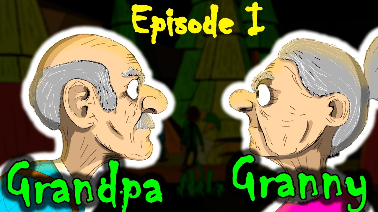 Download Granny and Grandpa. Gift from Mr. Dog. The beginning of the escape story