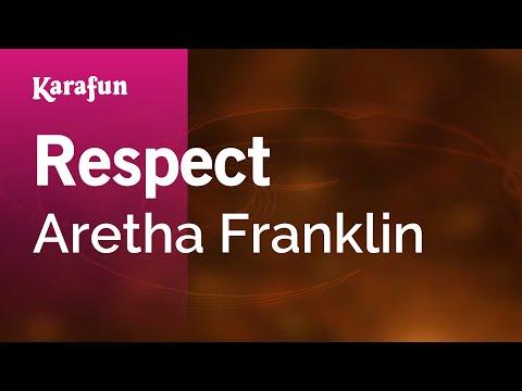 Karaoke Respect - Aretha Franklin *