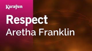Karaoke Respect - Aretha Franklin *