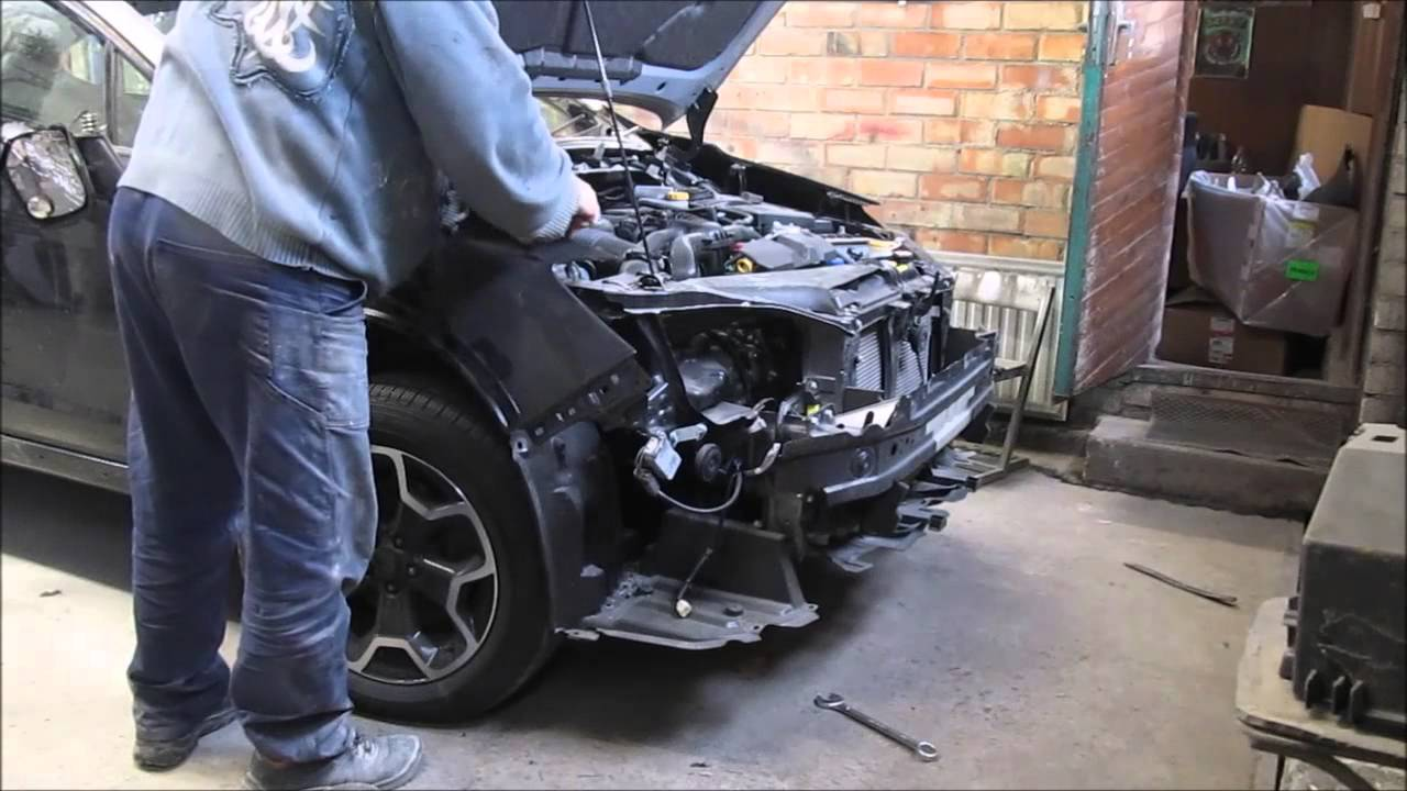 Subaru.Body repair. Part2. Ремонт кузова. Часть2.