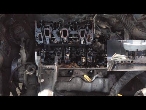 Pontiac Montana 3400 Calentada Quitando Cabezas