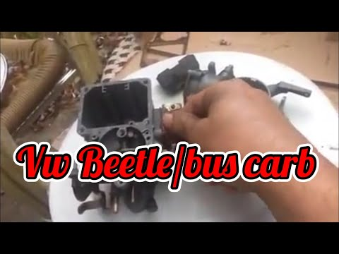 vw beetle carb solex 30 31 basic clean up and talk through youtube. Black Bedroom Furniture Sets. Home Design Ideas