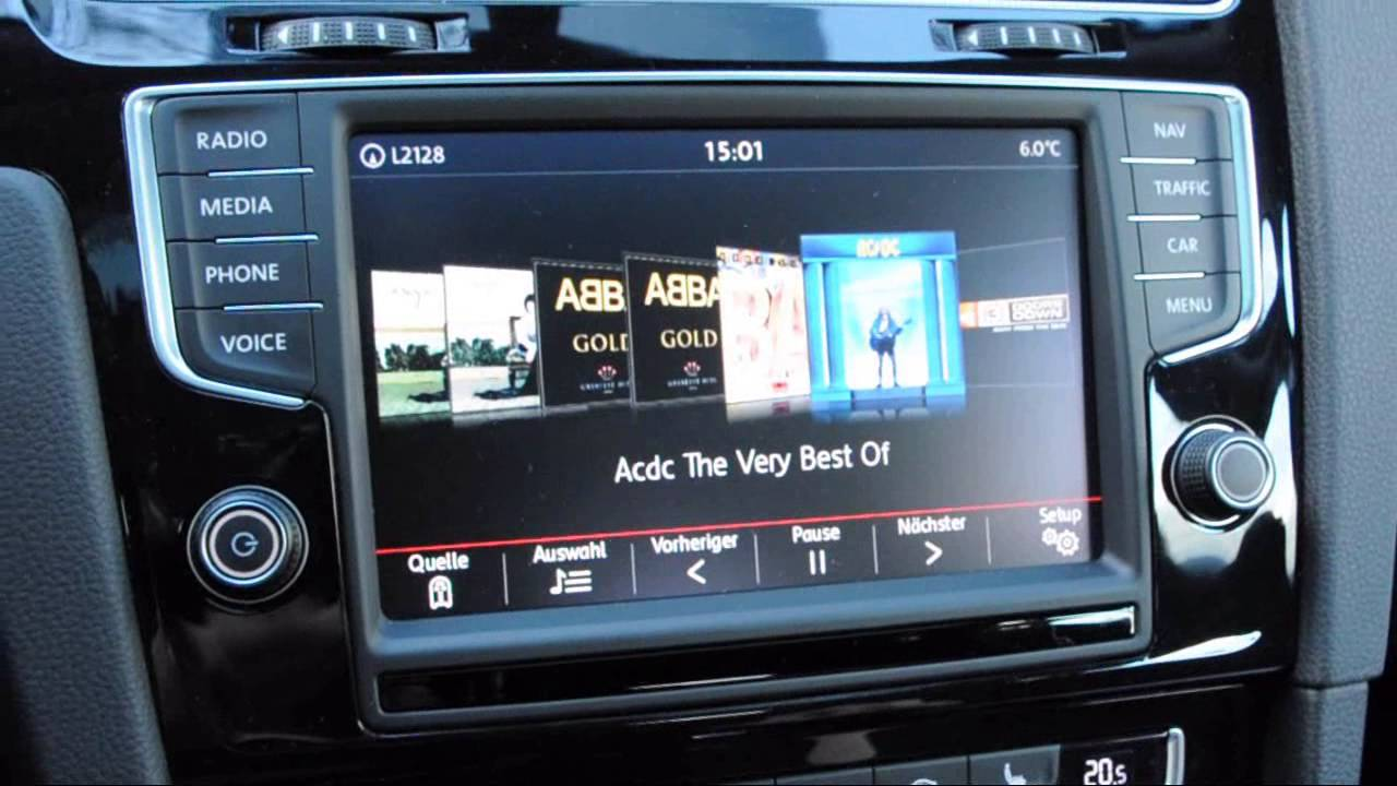 vw golf 7 dsg automatik navigation im test youtube. Black Bedroom Furniture Sets. Home Design Ideas