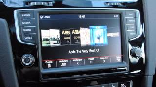 VW Golf 7 DSG-Automatik, Navigation im Test