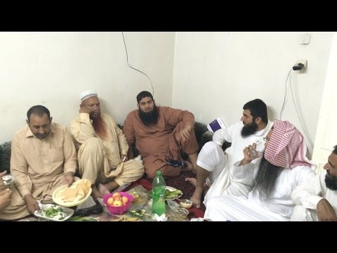 Molana Manzoor Ahmed In Taif