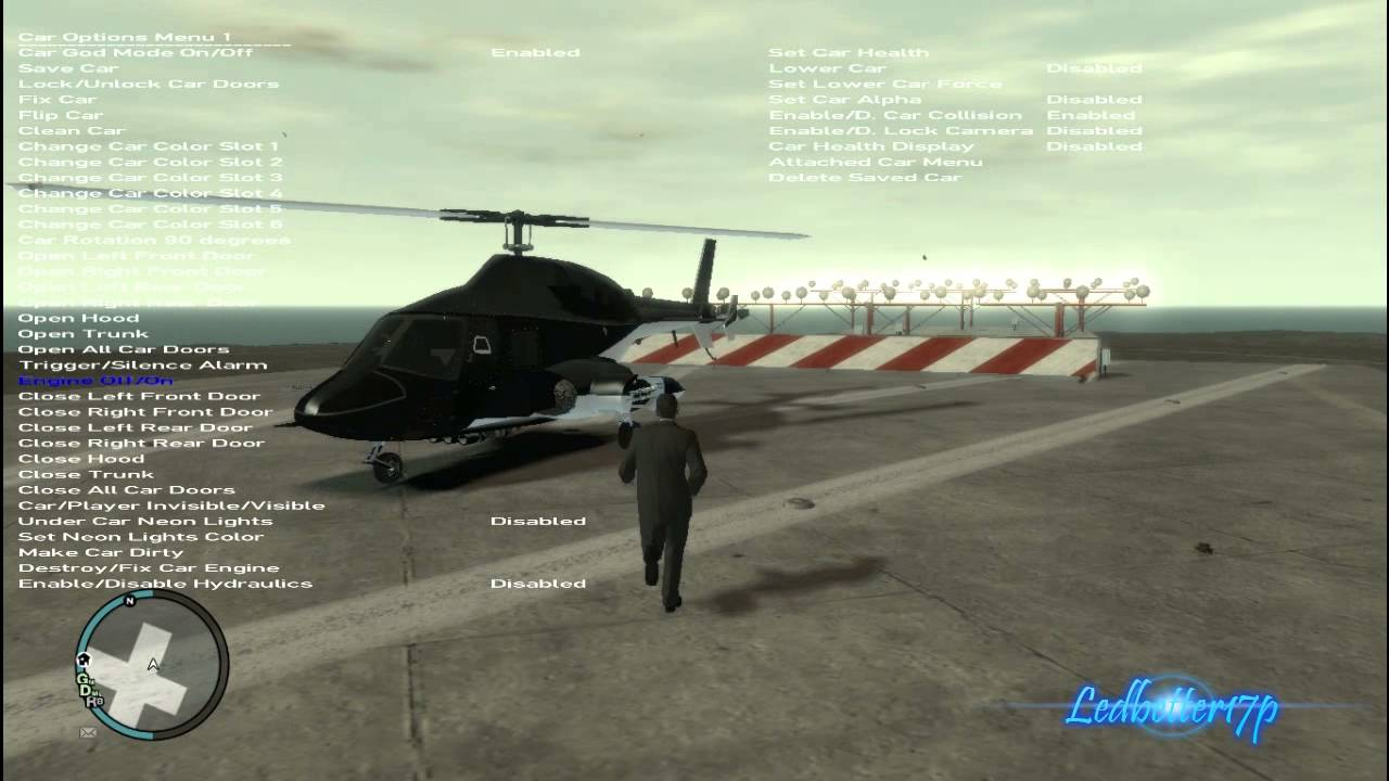 GTA 4 Mod Showcase MH60K Blackhawk And Airwolf Modified ...
