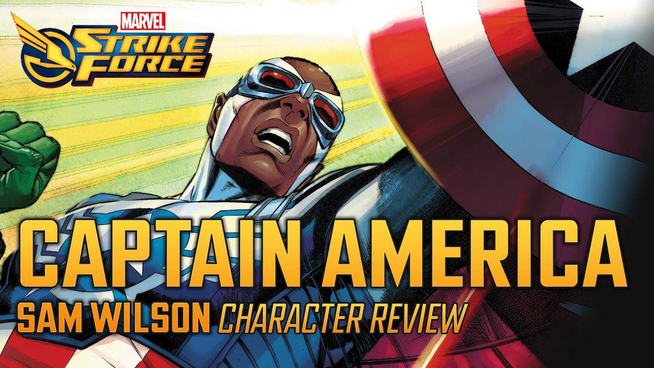 Captain America (Sam Wilson) | Character Review - MARVEL Strike Force