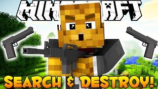 BRAND NEW Minecraft - Search and Destroy - Guns and More!
