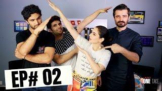Hamza Ali Abbasi, Ahad Raza Mir And Hania Amir | Parwaz Hai Junoon | One Take | Season 2 | Episode 2