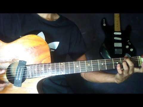 Chhewang Lama//isarale Bolaunu Pardaina//  Guitar Lesson Anup Bantawa
