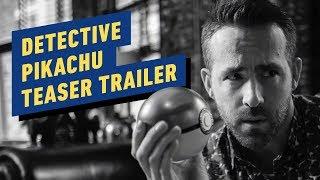 Pokémon Detective Pikachu Teaser Trailer (2019) Ryan Reynolds